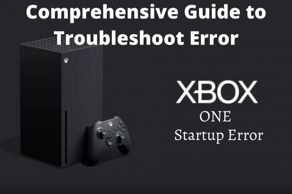 Xbox One Startup Error