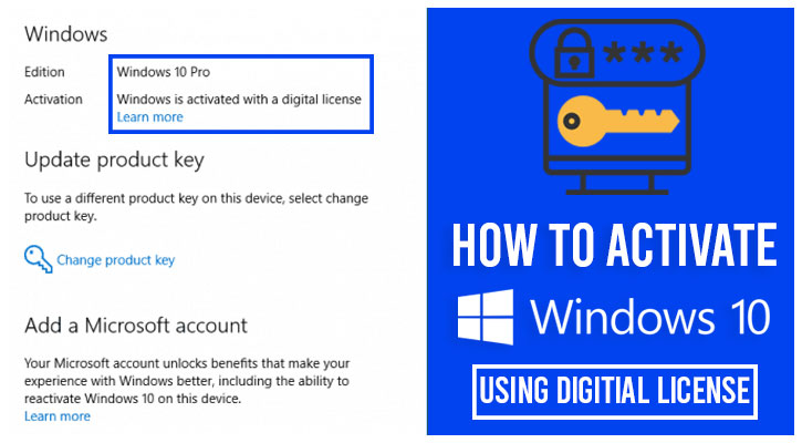 Activate-Windows-using-Digitial-License