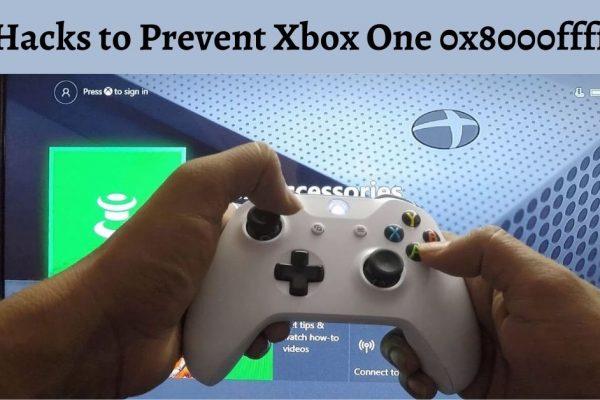 Xbox one 0x8000ffff