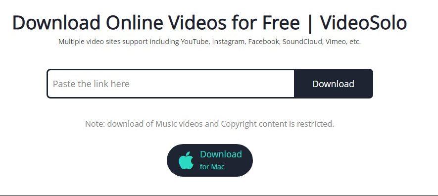 VideoSolo