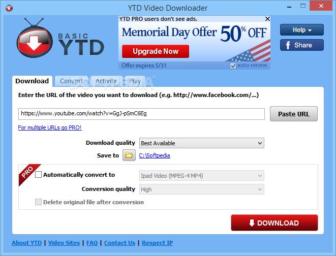 YTD-Video-Downloader