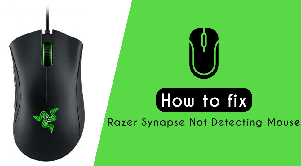 How to fix Razer Synapse Not Detecting Mouse