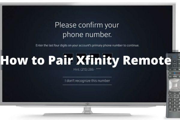 Reset Xfinity Remote