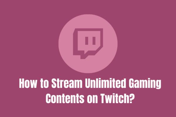 live stream on twitch