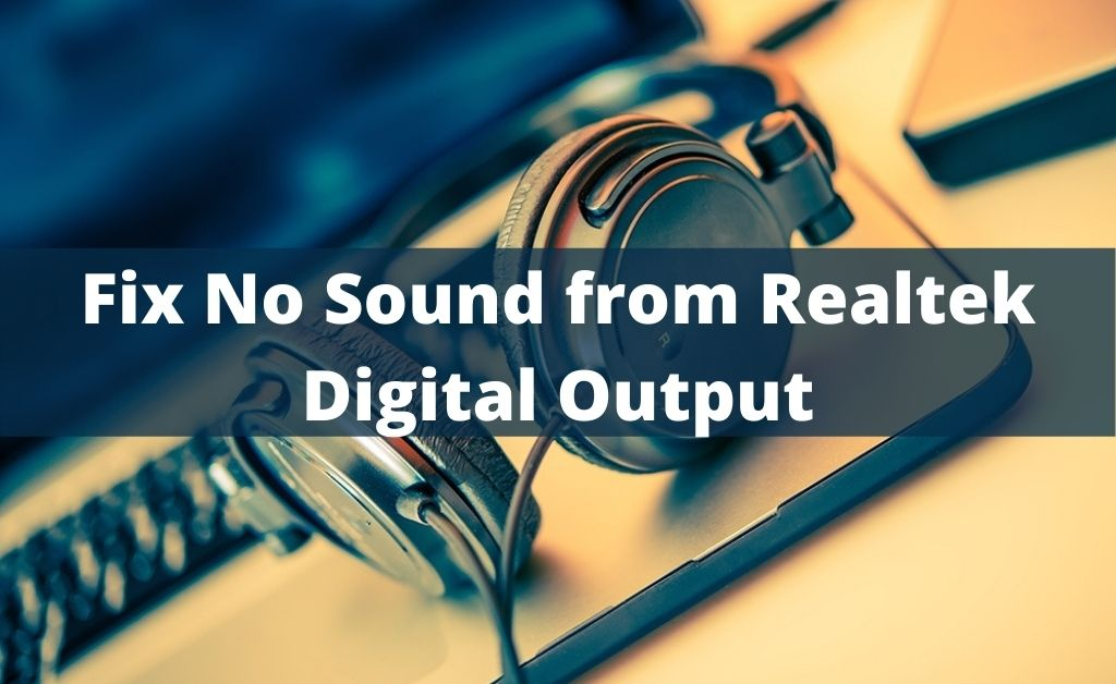 realtek digital output
