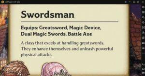 Swordsman Class